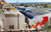 Sizes fördubblar produktionskapaciteten till 1 200 lägenheter under 2020 - nuvarande orderstock överstiger 1 400 MSEK