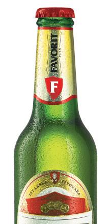 Sverigepremiär för Favorit Pivo - en ljus premium lager från Istrien i Kroatien