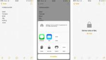 Sådan beskytter du dine noter med kode i iOS