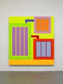 Galerie Forsblom presenterar stolt konstnären Peter Halley - för första gången i Sverige