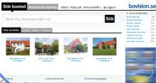 Nya Bovision.se störst i Sverige på bostäder