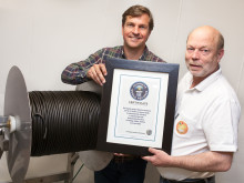 Lakritsfabrikens världsrekord godkänt av Guinness Rekordbok!