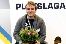 Olle Spetz från Borås vann guld i SM för unga plåtslagare