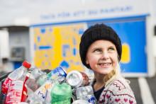 Nu kan du panta på återvinningscentralen i Gävle