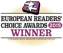 ​Xstream wins Streaming Media Europe Readers' choice award for Best Multi-screen solution