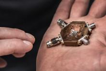 Nu startar bygget av en svensk kvantdator