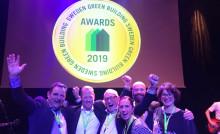 Riksbyggens Brf Viva vinnare av titeln Årets Miljöbyggnad