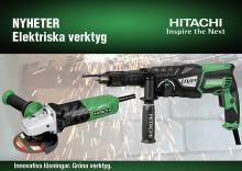Hitachi lanserar nya nätanslutna elverktyg