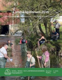 Ny skrift! Landskapsforum 2016 (KSLAT 3-2016)