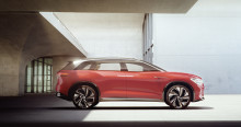 Verdenspremiere på Shanghai Motor Show: 7-personers ID. ROOMZZ e-SUV