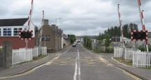 Wards level crossing closure