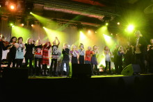 Väsby Melodifestival höll långt