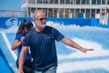 Royal Caribbean och Harmony of the Seas skapar vågor i Hollywood med sin huvudroll i filmen «Like Father».