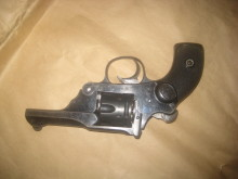 Two jailed for possession of revolver and Samurai sword