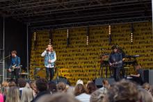 Thomas Stenström bjöd på show under Högskolan Västs Kick-off