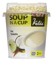 Snabbt & gott i höstrusket - Kelda® Soup in a cup - värmande soppa på 2 minuter