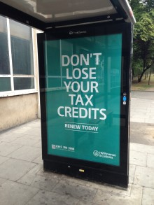 Tax credits online renewal form launched