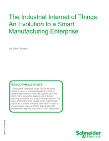 White Paper - The Industrial Internet of Things