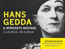 Samtal med Hans Gedda på Nationalmuseum 18 mars