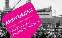 Arkivdagen 2015 i Oslo: Migrasjon i arkivene