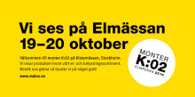 Vi ses på Elmässan19–20 oktober