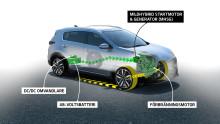 Kia introducerar 48V mildhybrid