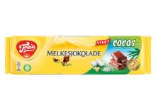 NYHET fra Freia - Freia Melkesjokolade med smak av Cocos.