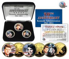 Minnesmynt uppmärksammar 50 år sedan John F. Kennedy svor Presidenteden