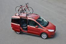 Täysin uudessa Ford Tourneo Courierissa yhdistyvät luokkansa paras polttoainetaloudellisuus, tilavuus sekä edistykselliset turvaominaisuudet