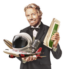 Sir Richard Branson blir Metros nya gästredaktör