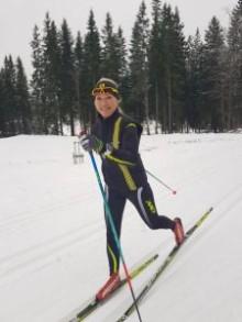 Träff på Borås skidstadion tillsammans med vår skidcoach Anna-Karin Jonsson