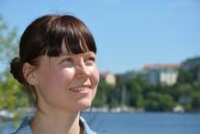 Maria Johansson utmanar sin diabetes typ 1, i dag springer hon Blodomloppet i Stockholm