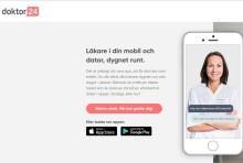 Tiohundra väljer Doktor24 för sina onlinebesök