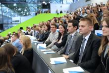 Feierliche Verabschiedung der 678 Absolventinnen und Absolventen des Akademischen Jahres 2017/2018 am 19. Oktober 2018