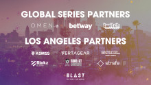Global brands partner up with BLAST Pro Series Los Angeles: Front Row