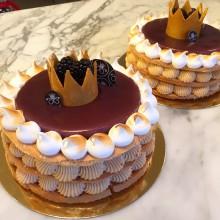 Prins Oscar firas på namnsdagen med nyskapad Oscarstårta från Haga Tårtcompani och Bageri!