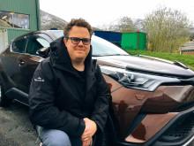Andreas blir ny Driftsleder i Glomfjord