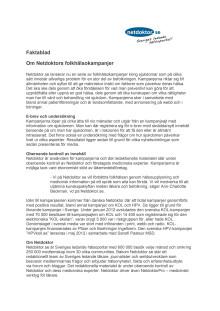 Information om Netdoktors folkhälsokampanjer