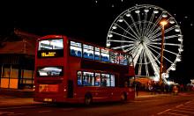 Buses for Sunderland Illuminations 2018