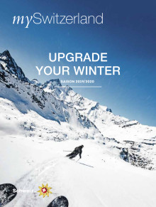 mySwitzerland Winter-Magazin: UPGRADE YOUR WINTER