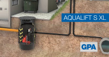 GPA lanserar den nya  pumpstationen  Aqualift S XL i juni 2017!