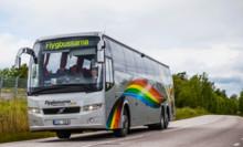 Trafikstart för Flygbussarna på Gotland