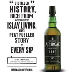 Laphroaig lanserer en utsøkt ny single malt –Laphroaig Lore