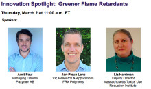 Swedish startup gives webinar on greener flame retardants
