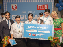 I Skövde finns Sveriges bästa skolkockar - tog hem segern i Skolmatsgastro 2014