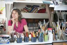 Marit Törnqvists konstnärsgärning sammanfattas i en stor utställning på Astrid Lindgrens Näs.