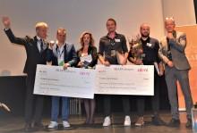 Peafowl Solar Power och Liqway vann SKAPA-priser för Uppsala län