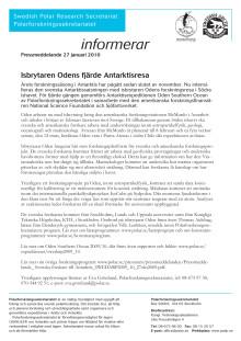 Isbrytaren Odens fjärde Antarktisresa