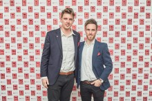 Twins on a mission to raise staggering £100,000 for the British Heart Foundation
