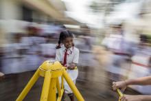 Leksaker och barnböcker skapar utvecklingsmöjligheter för de mest utsatta barnen